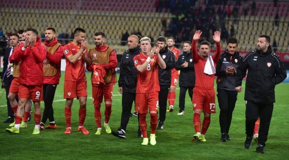 Македонските фудбалери со прогрес од три места на најновата ФИФА ранг листа