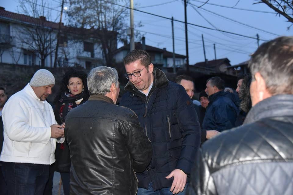Христијан Мицкоски на средба со граѓаните на Кавадарци