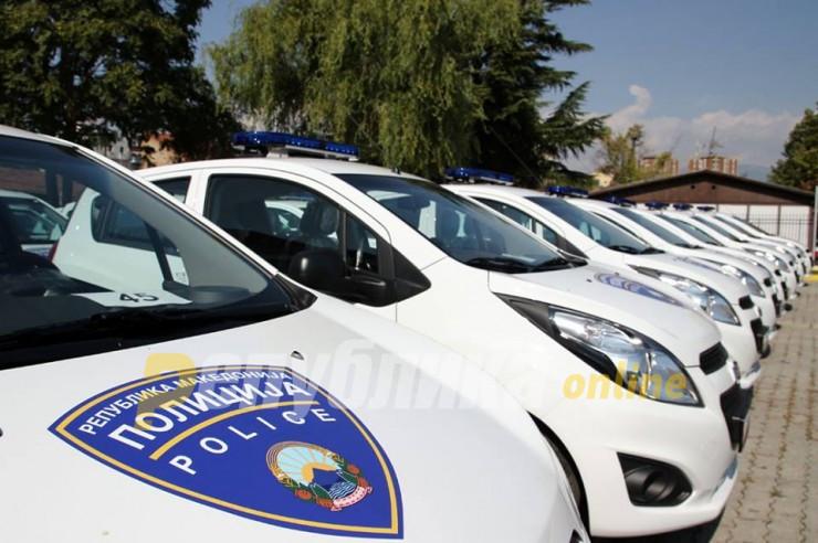 """Четворица повредени во судир на """"пежо"""" и полициско возило"""