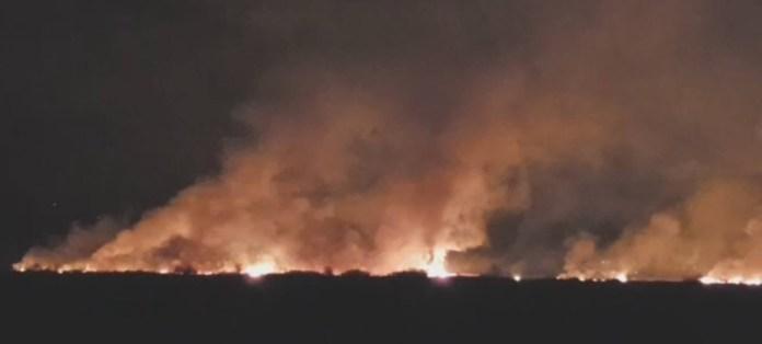 Пожарот кај Петровец ставен под контрола