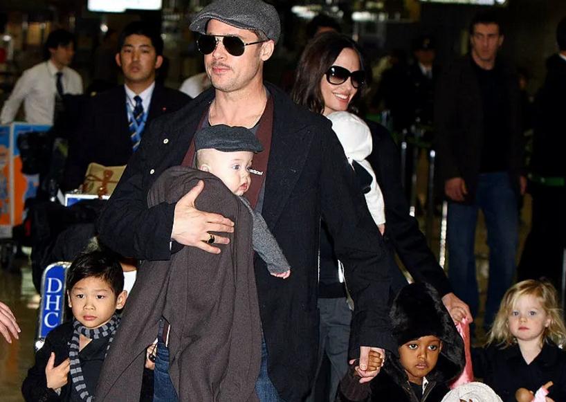 Три од нив веќе се тинејџери: Погледнете како денеска изгледаат децата на Анџелина Џоли