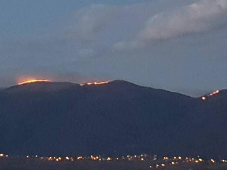 Локализиран пожарот на Скопска Црна Гора