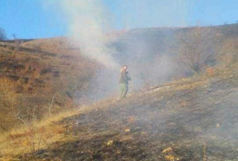 Пожарот во кавадаречко е локализиран, нема опасност по градот
