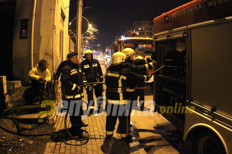 Командирот Кочовски: Најодговорно тврдам дека сите пожари се подметнати