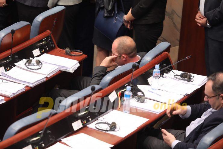 Силјановска-Давкова: Тој што ги отвори вратите во Собранието шета слободен