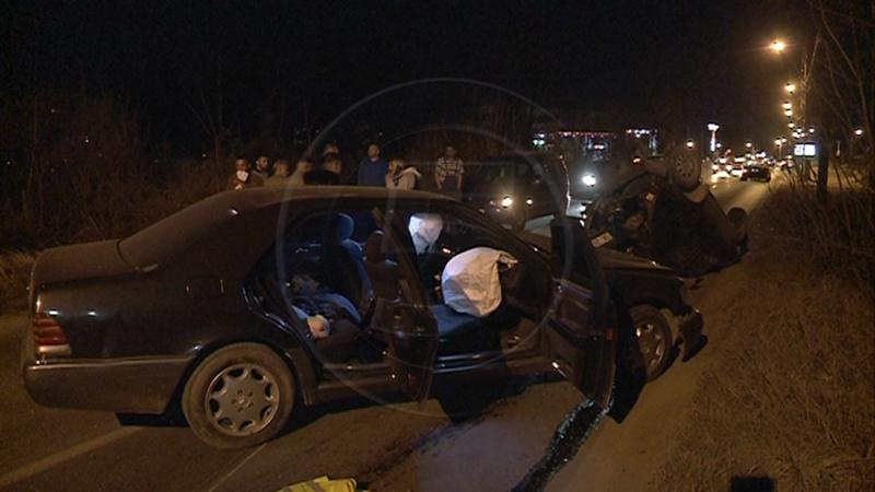 Тешка сообраќајна несреќа во Скопје – еден повреден