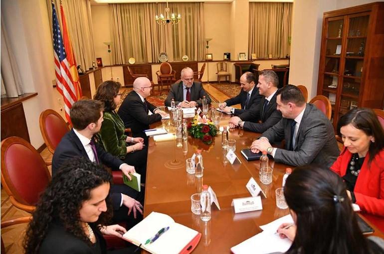 Средба Џафери-Рикер: Констатирани одлични односи меѓу двете земји