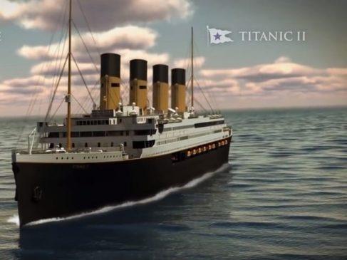 Титаник 2 е подготвен за пловење