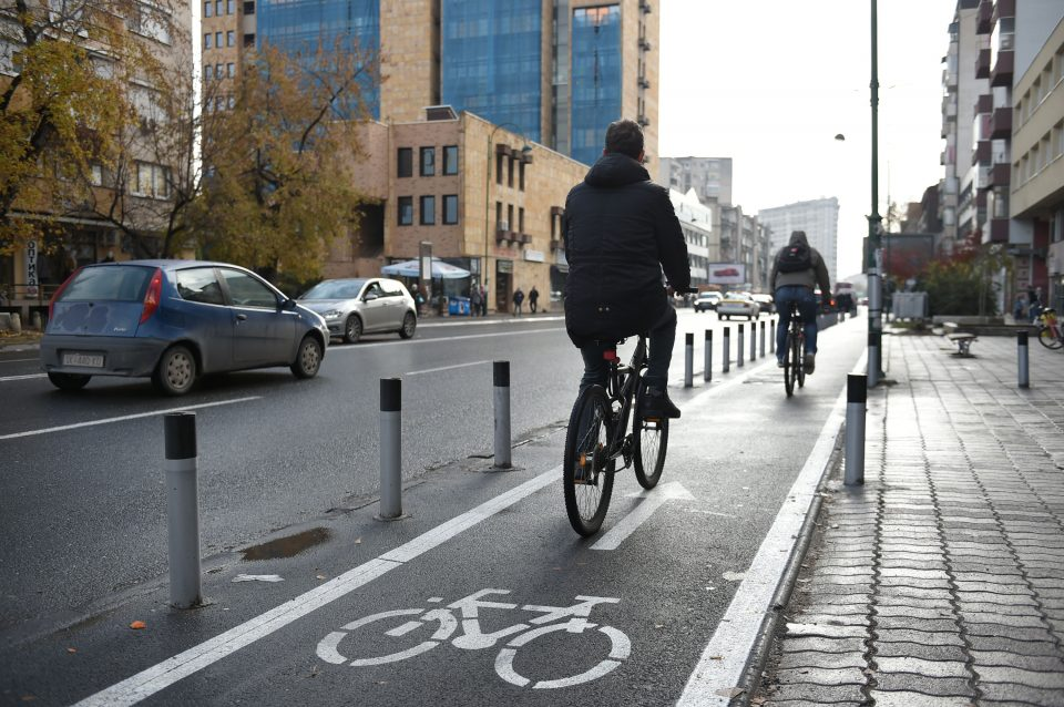 Изменет сообраќаен режим во Скопје поради велосипедско дефиле