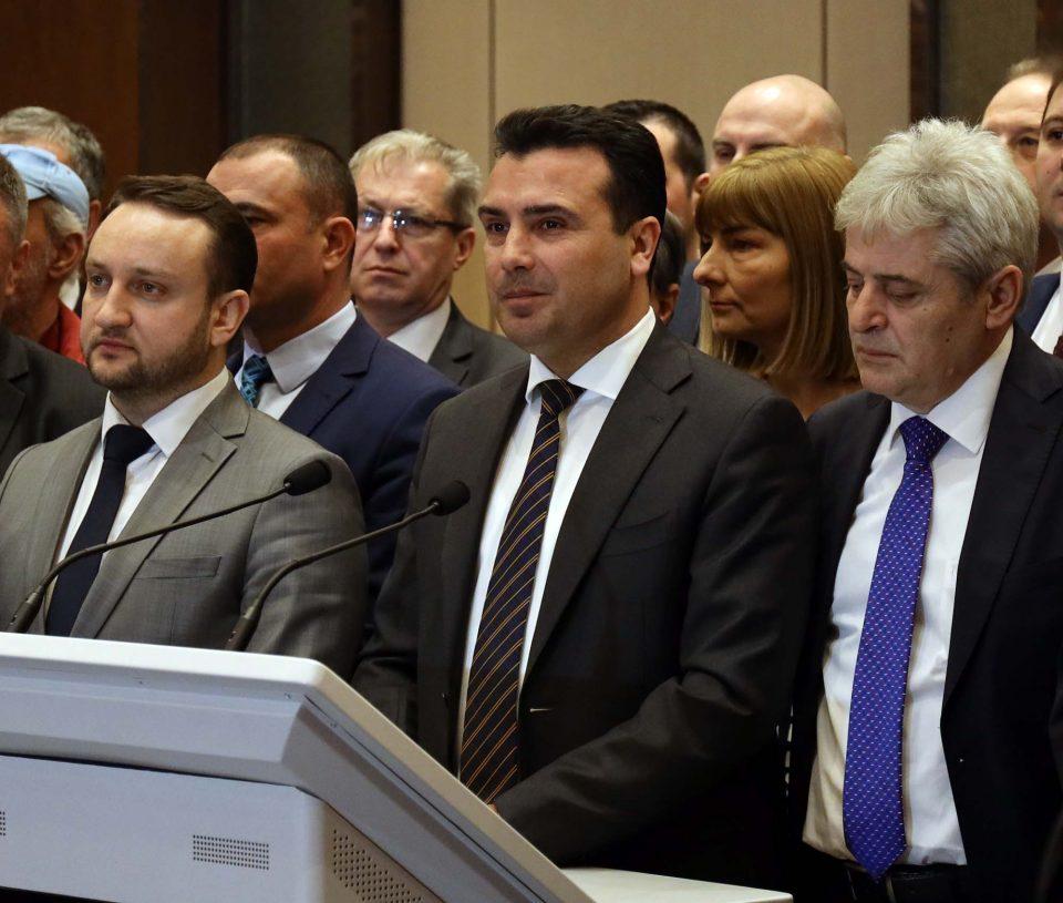 Заев призна дека Ахмети не сакал платите на административците да се намалат на 14.500