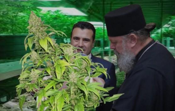 Владиката Наум од Струмица отворил фирма за марихуана, Заеви му се партнери!
