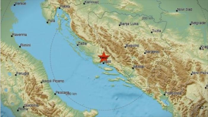 Се тресеше Хрватска: Силен земјотрес го погоди Сплит, звукот бил морничав