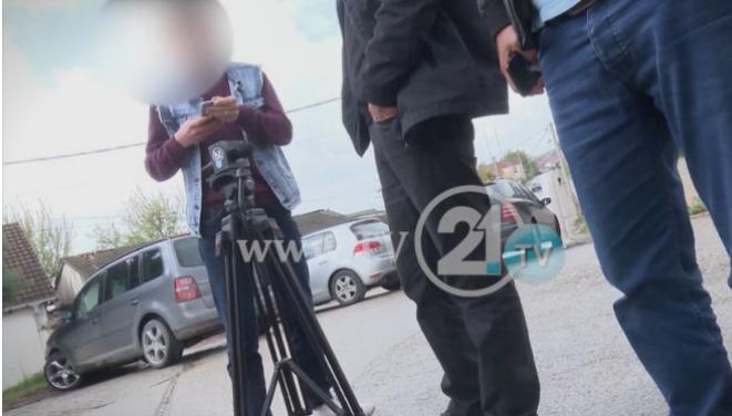 """Закани за екипа на ТВ21 во Арачиново: """"Да избришеш сѐ, инаку ветувам дека сѐ ќе скршам"""""""