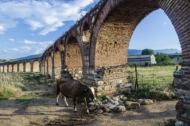 Министерството за култура доделило 30.000 евра за непостоечки проект: Скопскиот аквадукт претворен во депонија