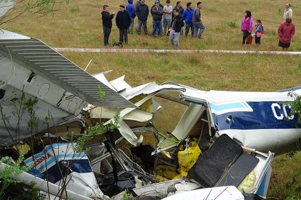 Се урна мал авион, шест лица загинаа