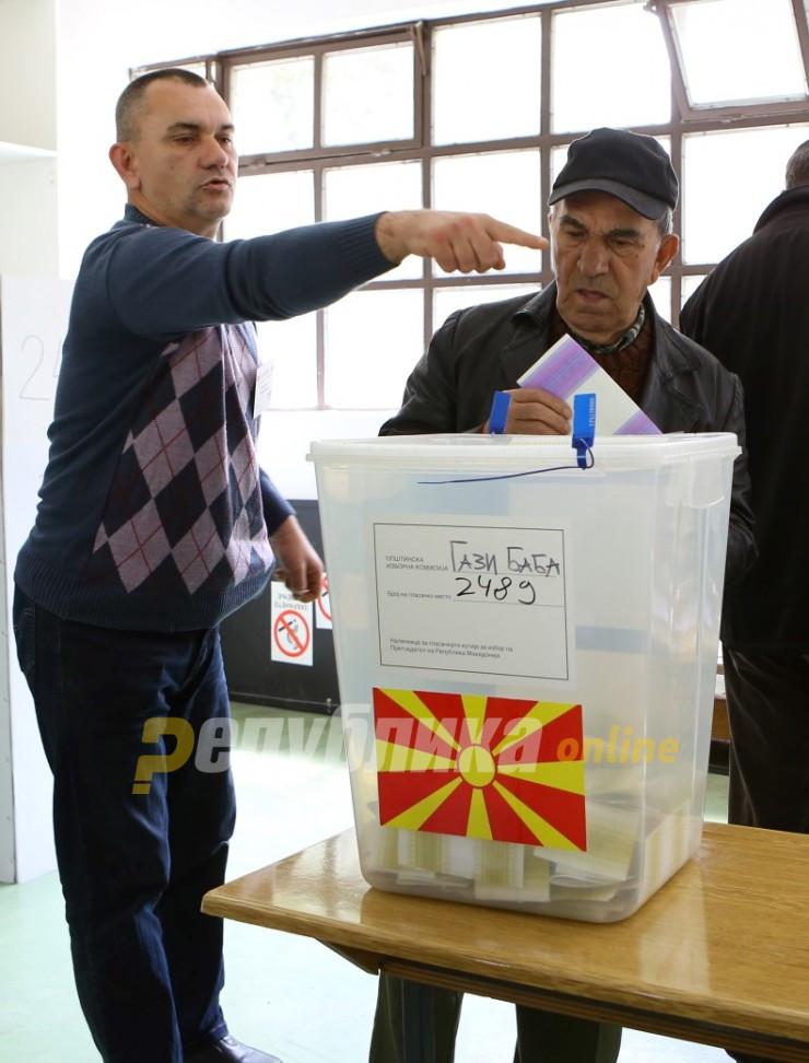 Упатство за гласање на изборите