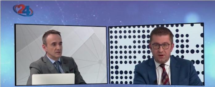 Мицкоски до Чадиковски: Прашајте го Заев дали ќе понесе одговорност што ги загуби овие избори