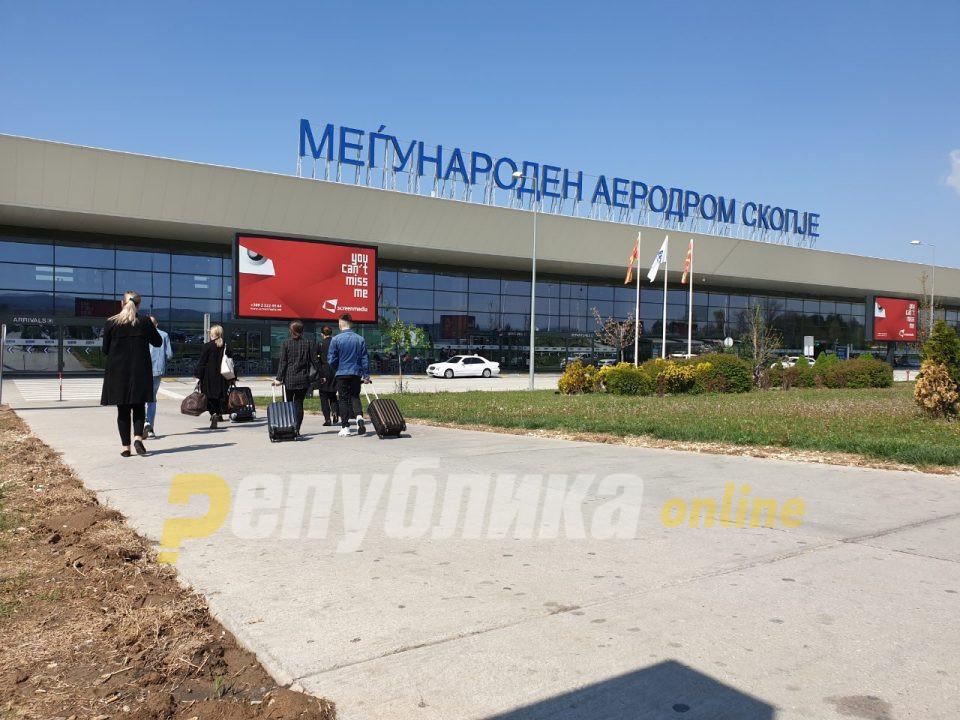 Велешанец уапсен вчера на скопскиот аеродром, завршил во затвор