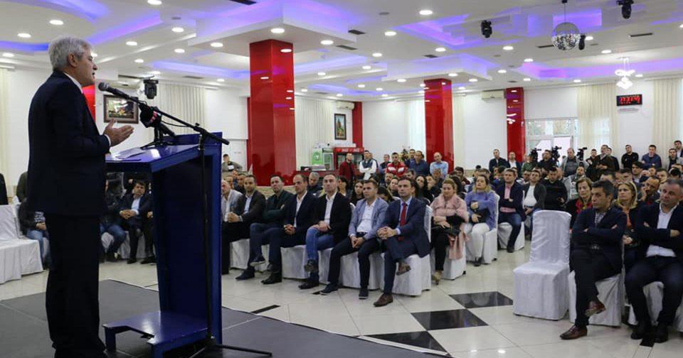 Ахмети: Не работам да ги добијам изборите, туку за добри дела за Албанците