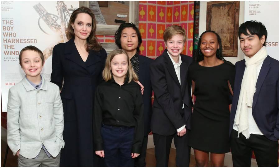 Анџелина Џоли, целото богатство го остава на само едно од нејзините шест деца