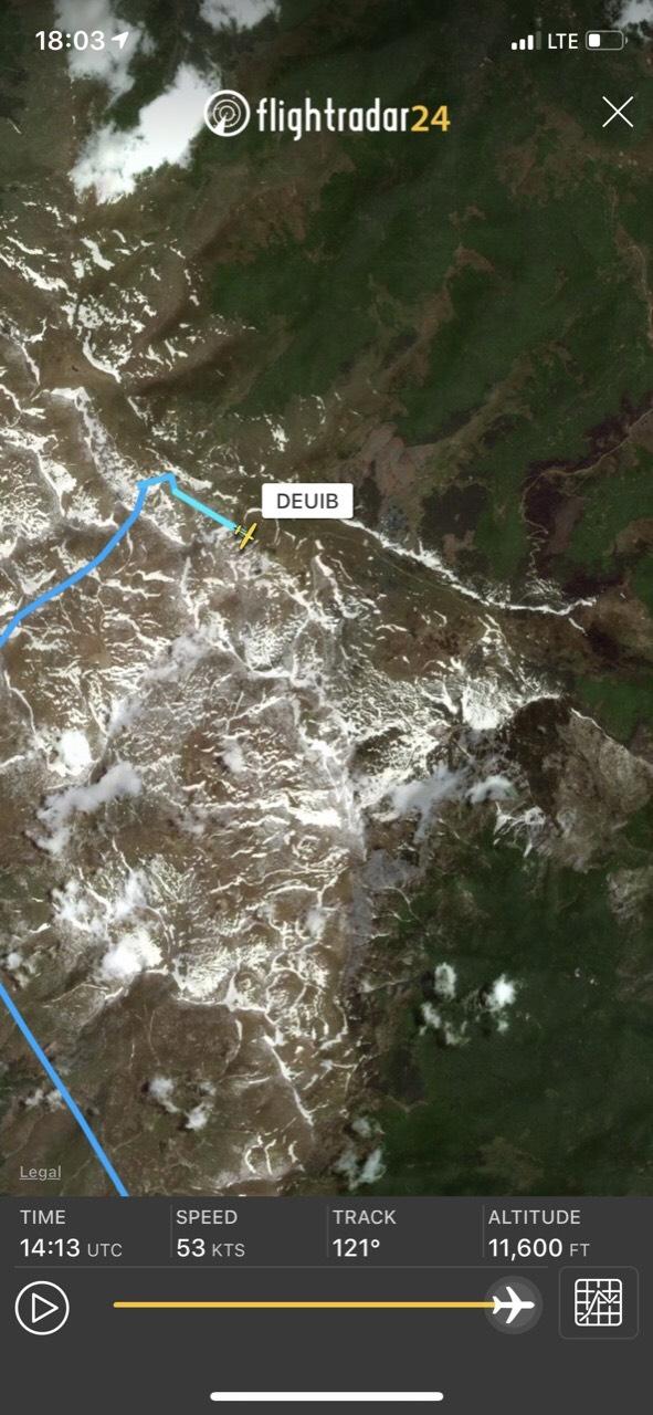 """Детали за паднатиот авион: Два полициски хеликоптери биле во потрага по """"цесната"""""""