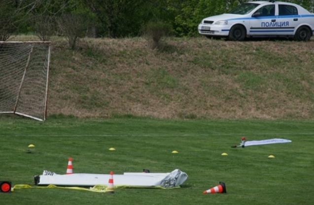 Се урна мал бугарски авион, двајца загинати