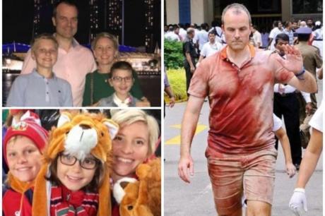 Британец целиот крвав лутал по болници во Шри Ланка да си го пронајде семејството