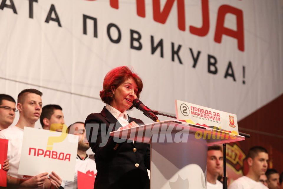Силјановска на МТВ: Во мојот мандат правдата ќе се спроведува