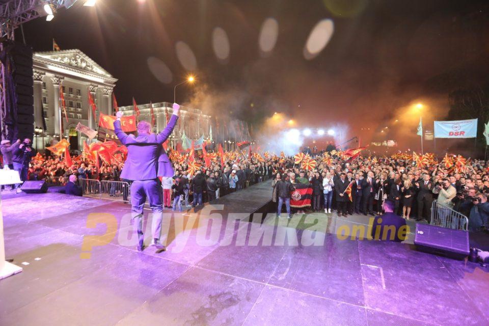 """Анкета на """"Макфакс"""": ВМРО-ДПМНЕ  со Христијан Мицкоски за една година ќе дојде на власт"""