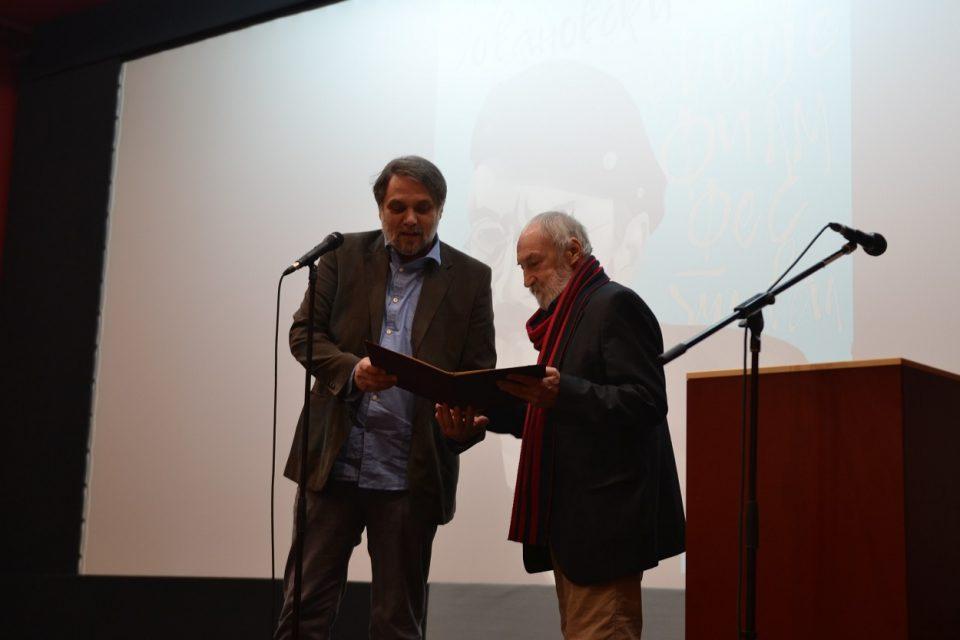 """Омаж на Јованоски на """"Скопје филм фестивал"""": Мето е еден од оние актери кои го одбележаа македонското глумиште"""