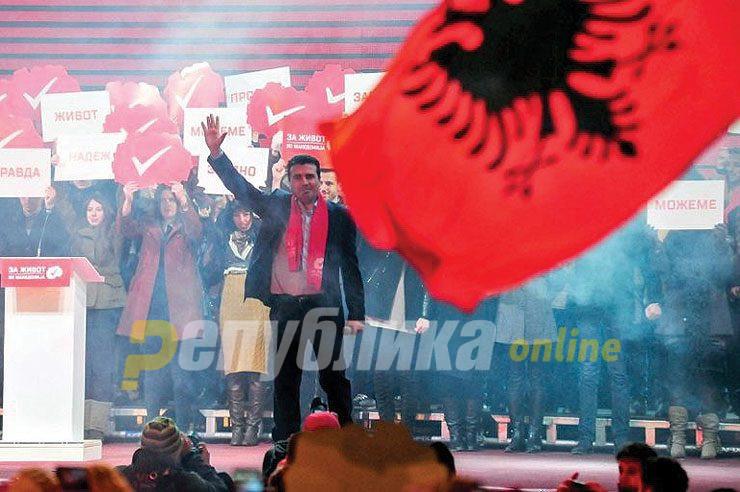 """Хистеријата за Преспанскиот е """"тирански"""" флерт со Албанците"""
