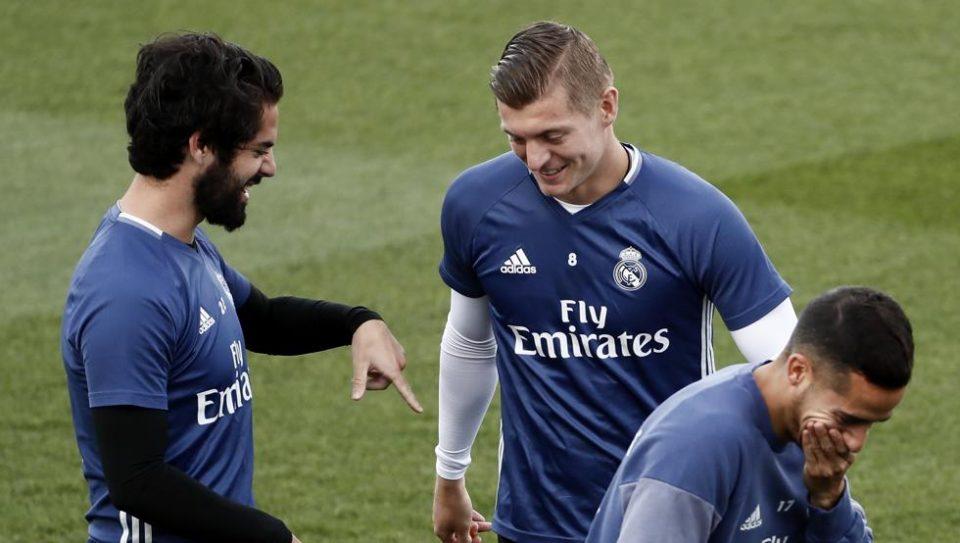 Иско се врати на тренинзите на Реал Мадрид