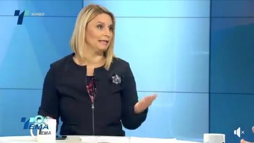 """СДСМ тврди новинарката Снежана Лупевска не ја кажа вистината, од """"Телма"""" потврдуваат дека Пендаровски е тој кој се oткaжaл од дeбaтaтa"""
