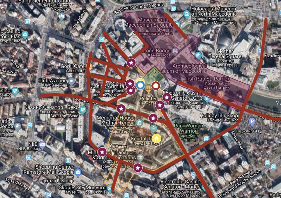 Светот ја крие маршутата на Папата, Македонија ја откри