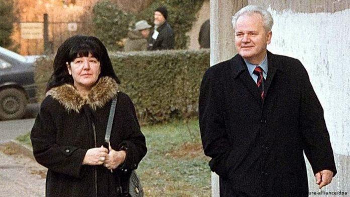 Мира Марковиќ, сопругата на Милошевиќ погребана во Пожаревац