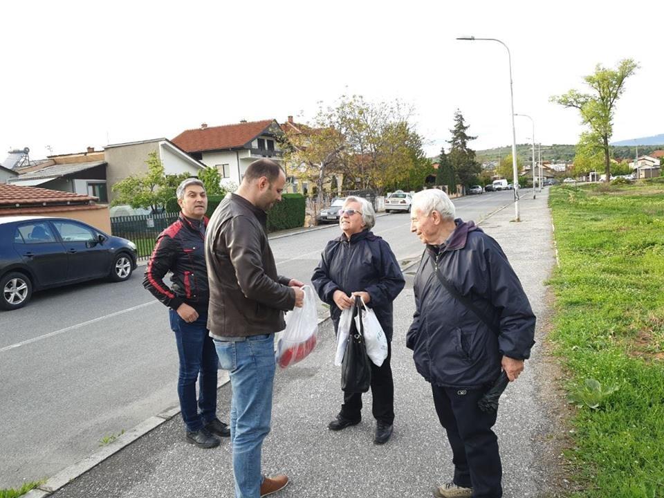 Мисајловски во Ѓорче: Сретнав чесни и достоинствени луѓе кои сакаат промени