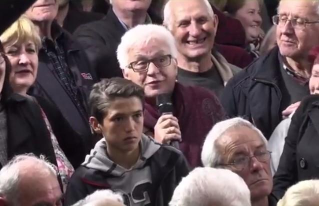 Бабо, мораш да одиш да гласаш за Пендаровски!