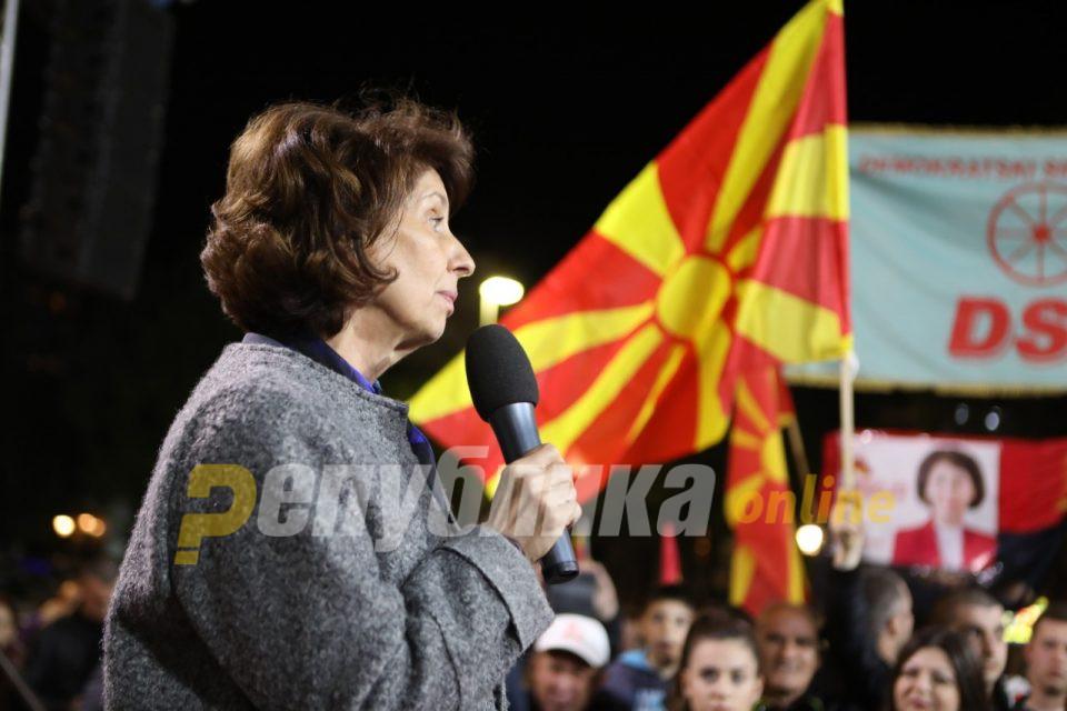 Силјановска: Санкција за Тамара, нема извини мора да се има одговорност