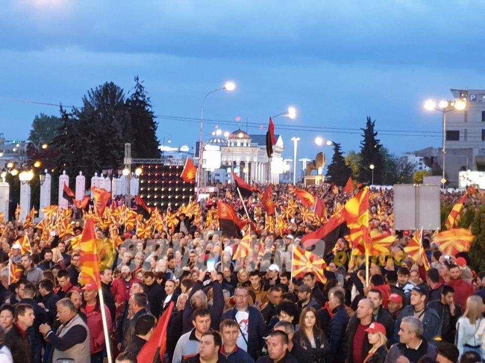Мицкоски: 21 април е денот! Македонија го возвраќа ударот!