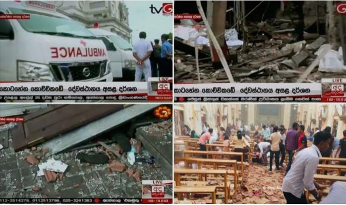 Крвав Велигден: Најмалку 100 загинати и над 250 ранети во серија експлозии