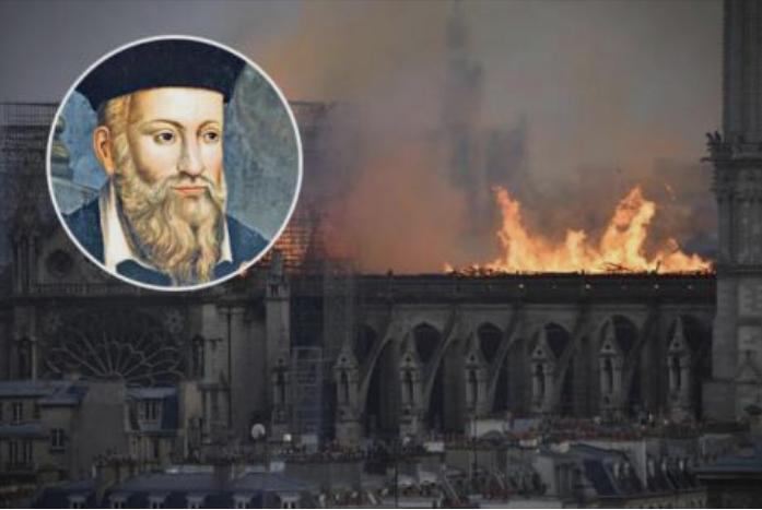 Нострадамус го предвиде пожарот во Нотр Дам: Ја погодил катастрофата точно до ден