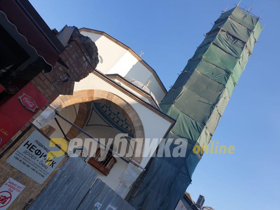 Али-пашината џамија во Охрид свечено ќе биде отворена на 28 ноември