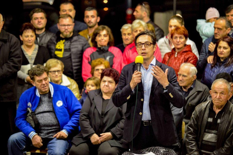 Пендаровски ја почна кампањата во Крушево: Нема подобра опција од интеграцијата во ЕУ