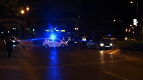 Се степале на бензинска, избегале од полицијата па се удриле во полициско возило: Ноќна драма во Чаир