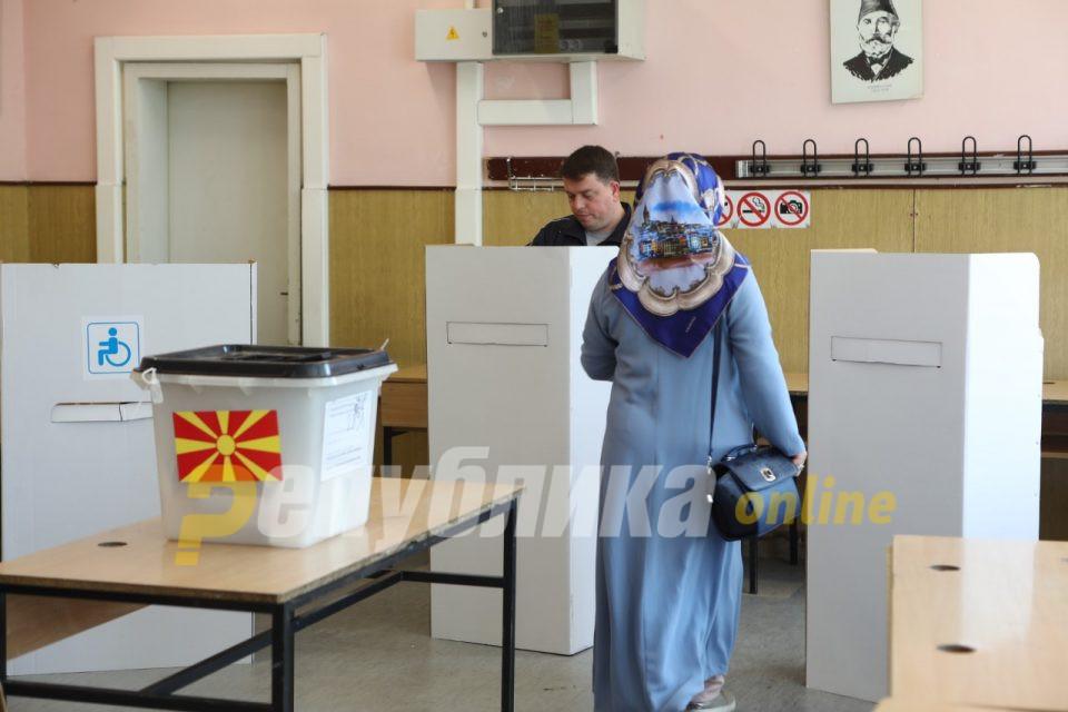 Особено слаба излезност на албанските гласачи