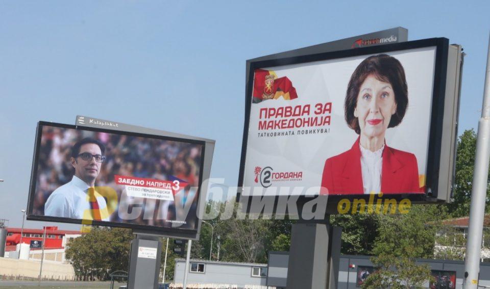 Силјановска Давкова и ВМРО-ДПМНЕ во убедливо водство
