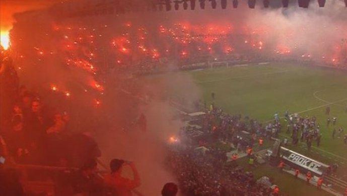 Солун гори, ПАОК стана шампион по 34 години