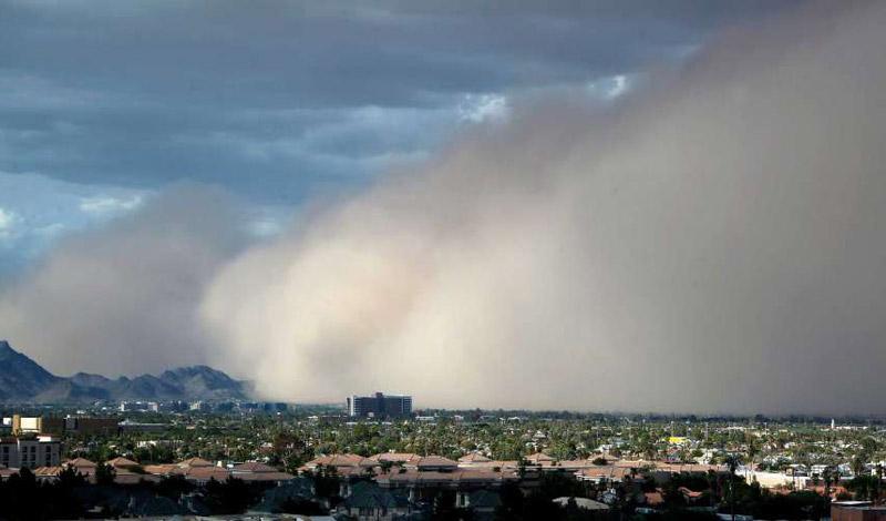 Сахарска прашина во Европа и на Балканот
