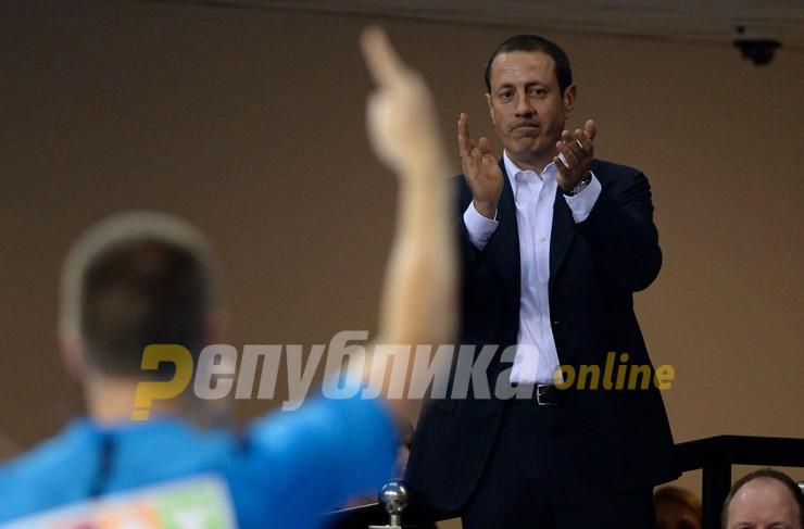 Михајло Михајловски и Сергеј Самсоненко имале состанок со играчите на Вардар