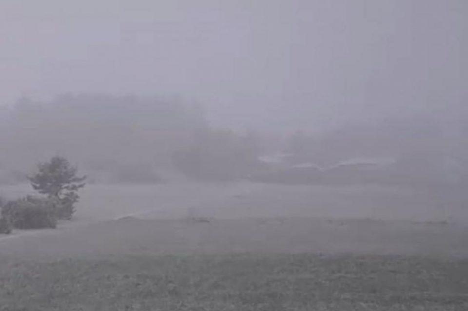 Падна снег и во Србија
